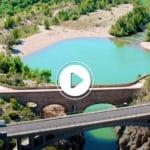HÉRAULT. Des images impressionnantes du Pont du Diable désert !